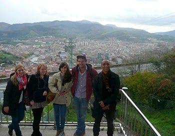 Actividades gratuitas con los cursos de español, lugares naturales de Bilbao - Artxanda