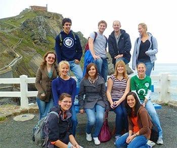 Actividades gratuitas con los cursos de español, lugares naturales de Vizcaya - Gaztelugatxe