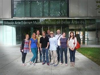 Actividades gratuitas con los cursos de Español museo de Bellas Artes de Bilbao