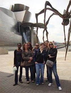 Actividades gratuitas con los cursos de español museo Guggenheim de Bilbao
