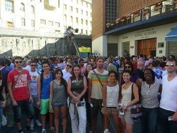 Actividades gratuitas con los cursos de español - plaza de toros de Bilbao