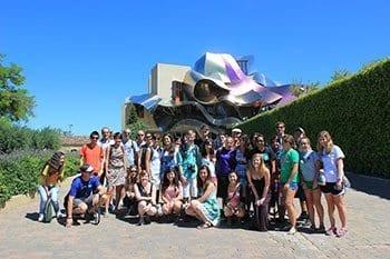 actividades gratuitas con los cursos de español-visita a ciudades cercanas: Elciego La Rioja