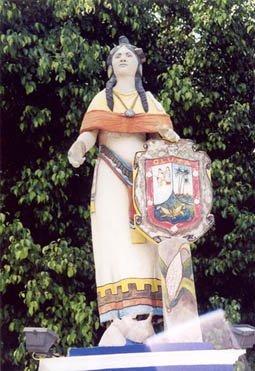 Statue of La Malinche